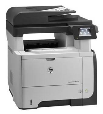 МФУ HP LaserJet Pro M521dw черный/белый - фото 5