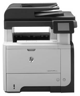 МФУ HP LaserJet Pro M521dw черный/белый (A8P80A) - фото 6