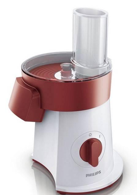 Измельчитель электрический Philips HR1388/50 белый/красный - фото 2