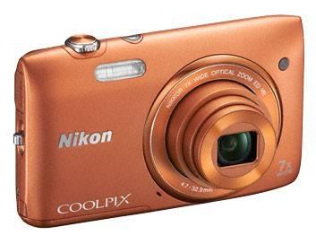 Фотоаппарат Nikon CoolPix S3500 оранжевый - фото 4