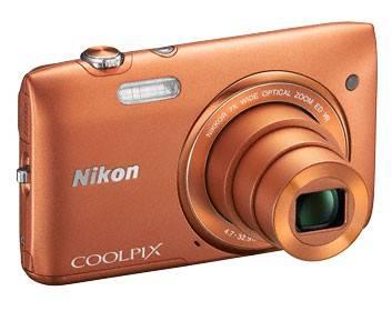 Фотоаппарат Nikon CoolPix S3500 оранжевый - фото 5