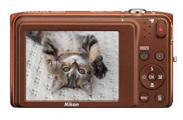 Фотоаппарат Nikon CoolPix S3500 оранжевый - фото 6