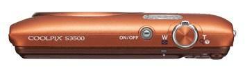 Фотоаппарат Nikon CoolPix S3500 оранжевый - фото 7