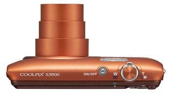 Фотоаппарат Nikon CoolPix S3500 оранжевый - фото 8