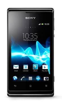 Смартфон Sony Xperia E C1505 4ГБ черный - фото 1