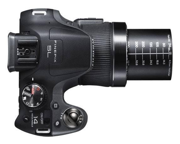Фотоаппарат FujiFilm FinePix SL240 черный - фото 3