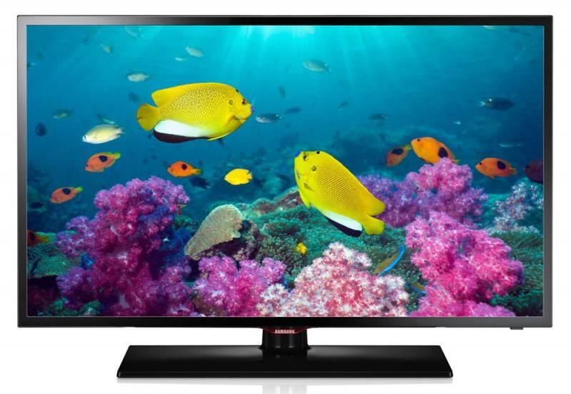 "Телевизор LED 32"" Samsung UE32F5020AK черный/синий - фото 1"
