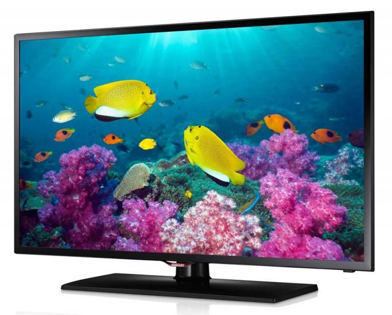 "Телевизор LED 32"" Samsung UE32F5020AK черный/синий - фото 2"