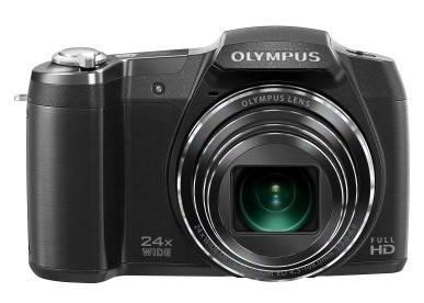Фотоаппарат Olympus SZ-16 черный - фото 1