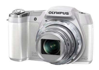 Фотоаппарат Olympus SZ-16 белый - фото 2