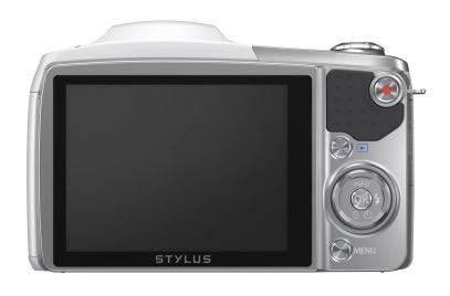 Фотоаппарат Olympus SZ-16 белый - фото 3