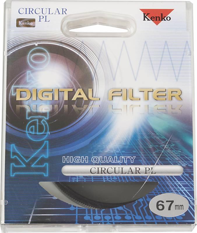 Фильтр поляризационный Kenko PL-CIR 67мм - фото 2