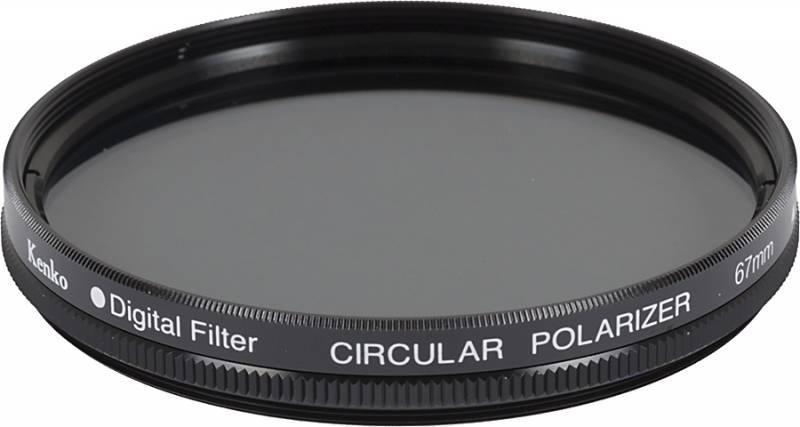 Фильтр поляризационный Kenko PL-CIR 67мм - фото 1