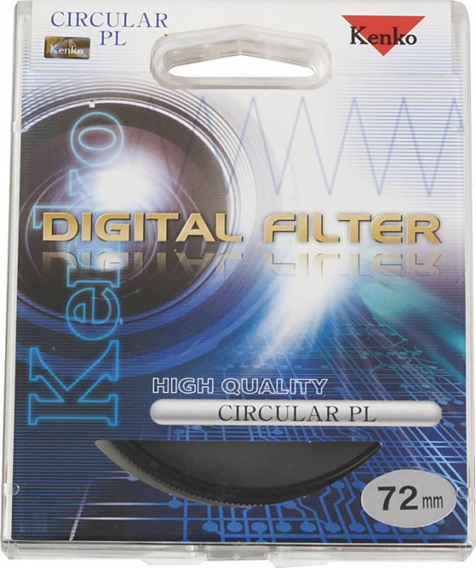 Фильтр поляризационный Kenko PL-CIR 72мм - фото 2