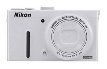 Фотоаппарат Nikon CoolPix P330 белый - фото 1