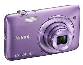 Фотоаппарат Nikon CoolPix S3500 фиолетовый - фото 4