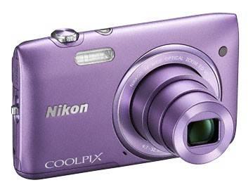 Фотоаппарат Nikon CoolPix S3500 фиолетовый - фото 5
