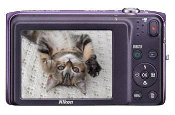 Фотоаппарат Nikon CoolPix S3500 фиолетовый - фото 6