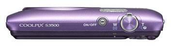 Фотоаппарат Nikon CoolPix S3500 фиолетовый - фото 7