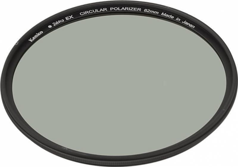 Фильтр поляризационный Kenko Zeta EX C-PL 82мм - фото 1