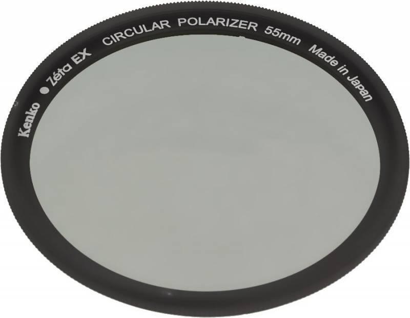Фильтр поляризационный Kenko Zeta EX C-PL 55мм - фото 1