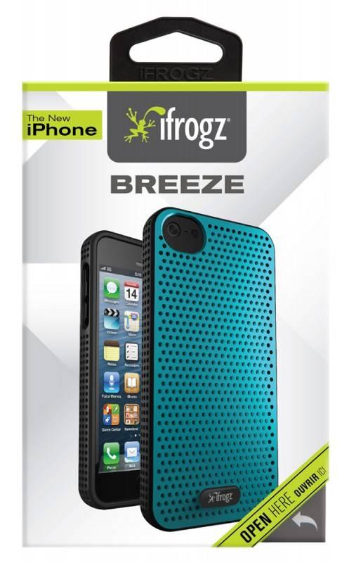 Чехол (клип-кейс) Ifrogz Breeze (IP5BZ-TLBK) голубой/черный - фото 1