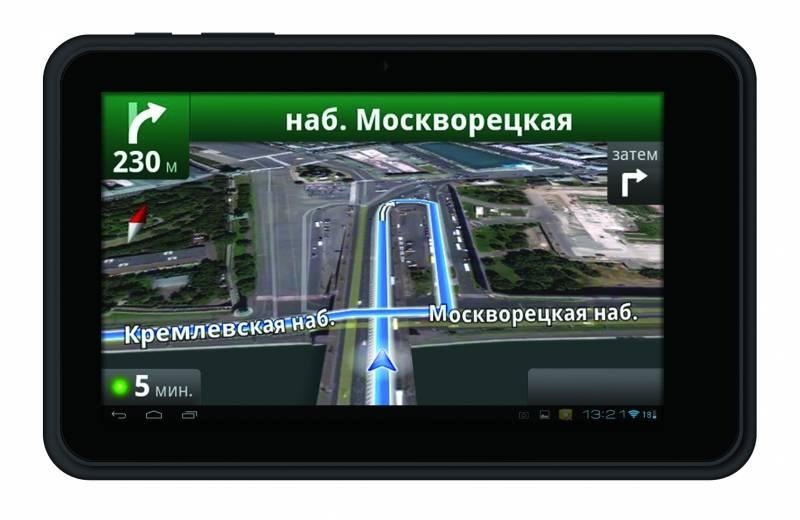 """GPS-навигатор Digma Way 7.1 connect 7"""" черный - фото 9"""