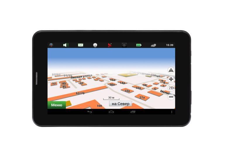 """GPS-навигатор Digma Way 7.1 connect 7"""" черный - фото 12"""
