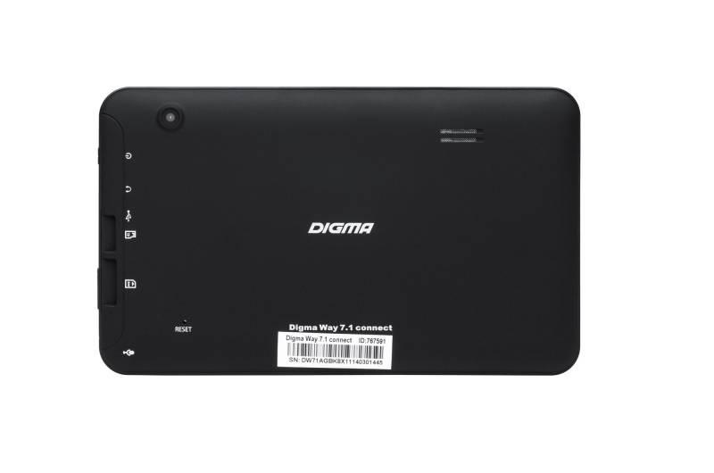 """GPS-навигатор Digma Way 7.1 connect 7"""" черный - фото 15"""