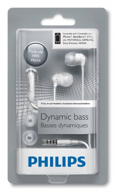Наушники с микрофоном Philips SHE3595WT/00 белый - фото 3