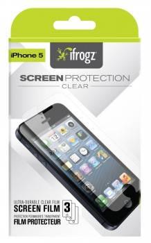 Защитная пленка Ifrogz для Apple iPhone 5/5S (IP5SP-CLR)