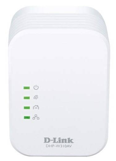 Сетевой адаптер HomePlug AV/WiFi D-Link DHP-W310AV - фото 1