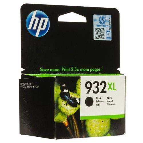 Картридж струйный HP №932XL CN053AE черный - фото 1