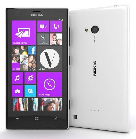 Смартфон Nokia Lumia 720 белый - фото 1