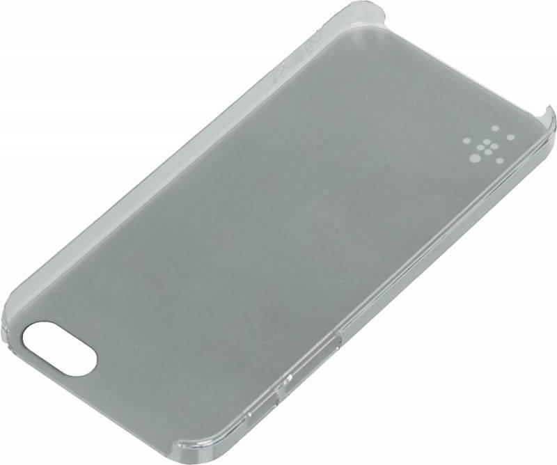 Чехол Belkin F8W300vfC00, для Apple iPhone 5, серый - фото 2