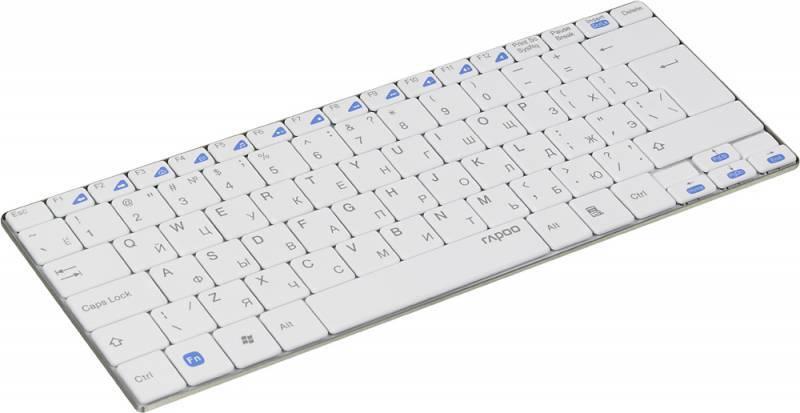Клавиатура Rapoo E9050 белый - фото 2