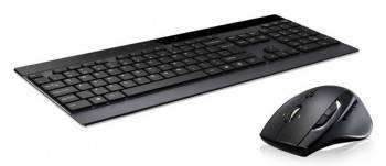Комплект клавиатура+мышь Rapoo 8900P серый / серый