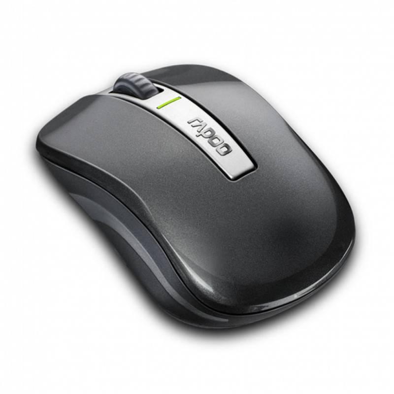 Мышь Rapoo 6610 серый - фото 3