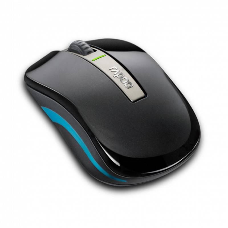 Мышь Rapoo 6610 черный - фото 4