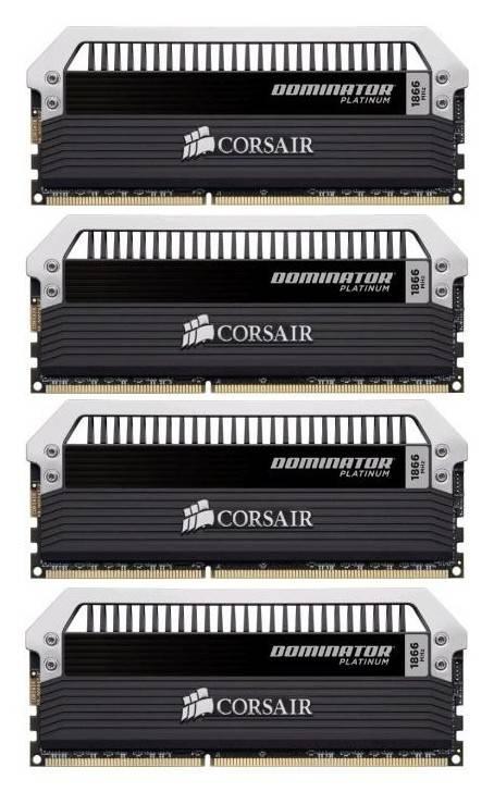 Модуль памяти DIMM DDR3 4x8Gb Corsair CMD32GX3M4A1866C10 - фото 1