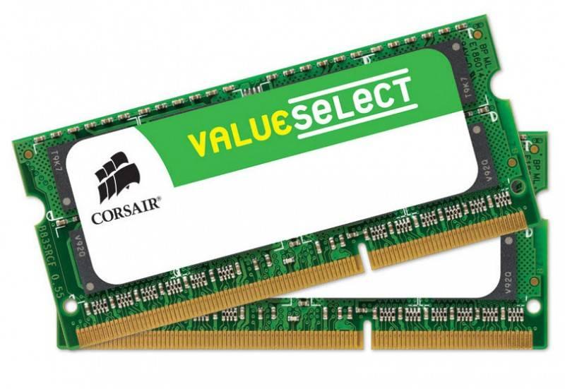 Модуль памяти SO-DIMM DDR3 2x8Gb Corsair CMSO16GX3M2A1600C11 - фото 1