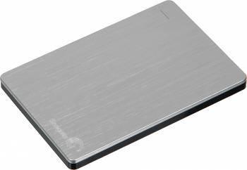 Внешний жесткий диск 500Gb Seagate STCD500204 Slim серебристый USB 3.0