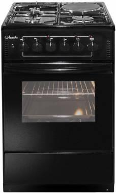 Плита комбинированная Лысьва ЭГ 1/3г01-2у черный (ЭГ 1/3Г01-2У BLACK)