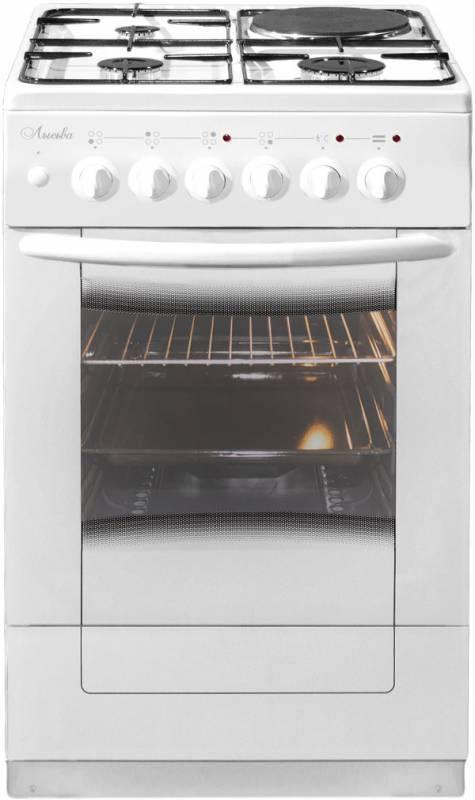 Плита комбинированная Лысьва ЭГ 1/3г01 М2С 2у белый, без крышки - фото 1