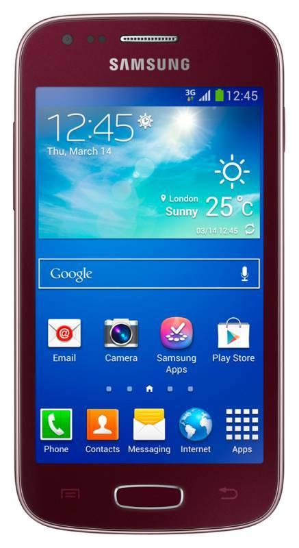 Смартфон Samsung Galaxy Ace 3 GT-S7270 4ГБ красный - фото 1