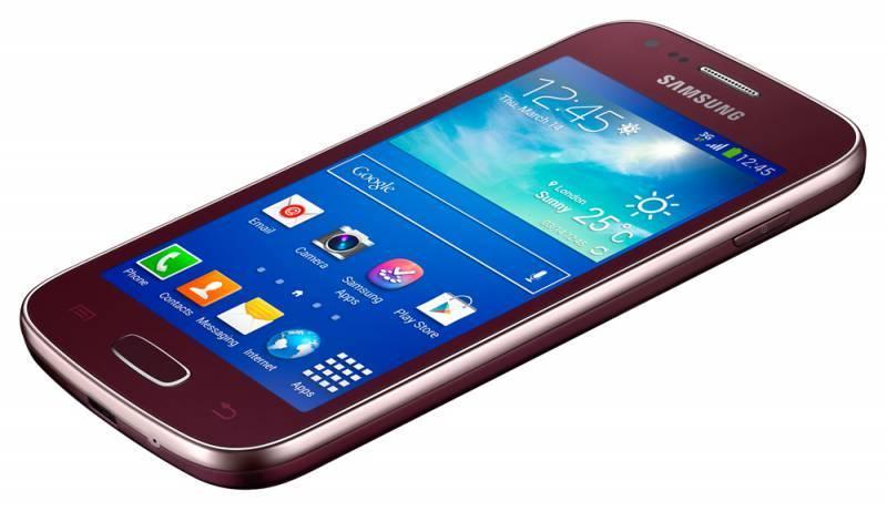 Смартфон Samsung Galaxy Ace 3 GT-S7270 4ГБ красный - фото 4