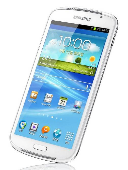 Смартфон Samsung Galaxy Mega 5.8 GT-I9152 8ГБ белый - фото 1