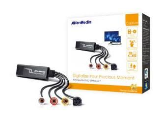 Карта видеозахвата USB Avermedia DVD EZMaker 7 C039 (DVD EZMAKER 7) - фото 1