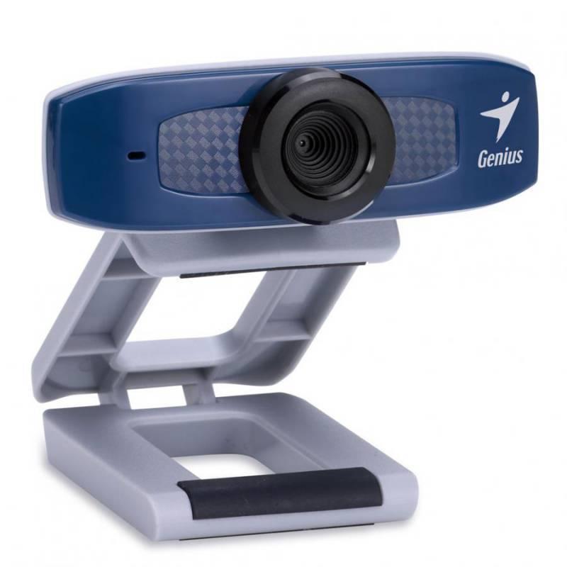 Веб-камера Genius FaceCam 320X синий - фото 1