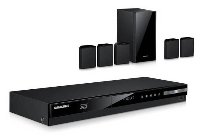 Домашний кинотеатр Samsung HT-F4500 черный/черный - фото 1